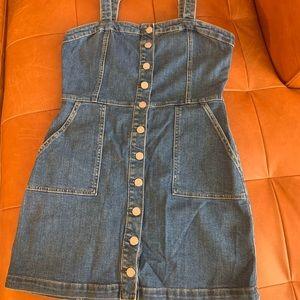 Denim Mini Dress from garage